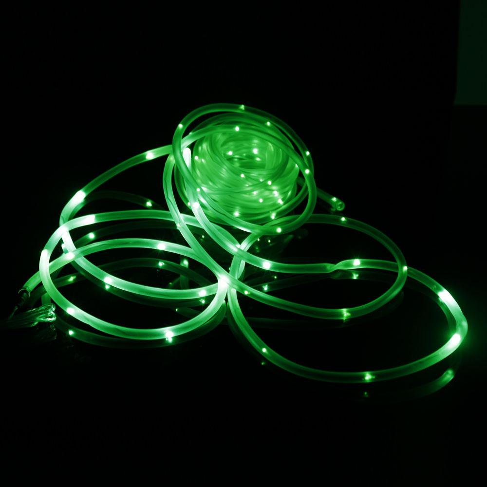Dollarama Solar String Lights: 50/100 LED Solar Fairy String Lights Tube Rope Outdoor