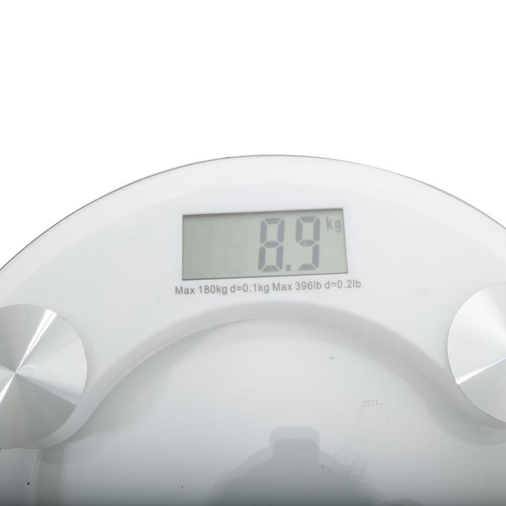 180KG/396lb Digital LCD Glass Bathroom Scale Body Weight ...