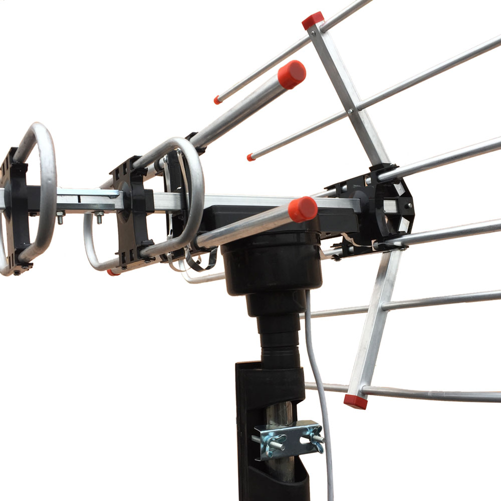 hdtv antenna template - hdtv outdoor amplified antenna hd tv 36db rotor remote 360