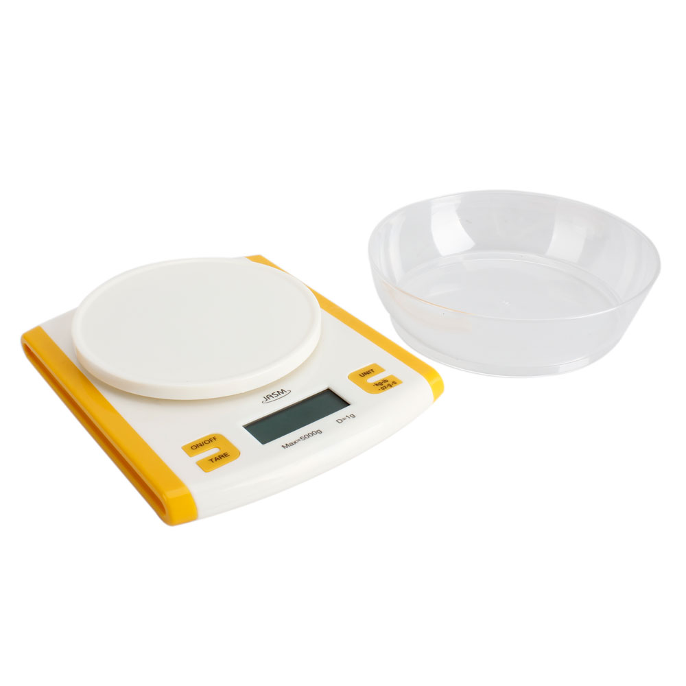 Compact digital kitchen scale diet food 5kg 11lbs x 1g w for 0 1g kitchen scales